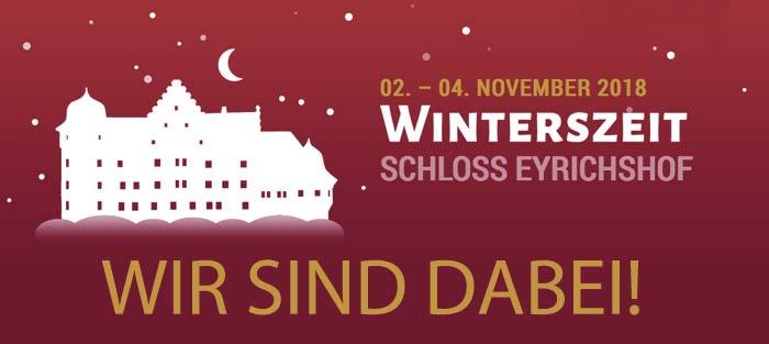 Winterszeit Schloss Eyrichhof
